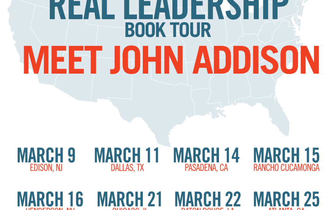 The Real Leadership Book Tour