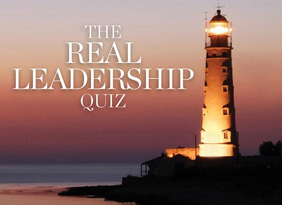 The Real Leadership Quiz