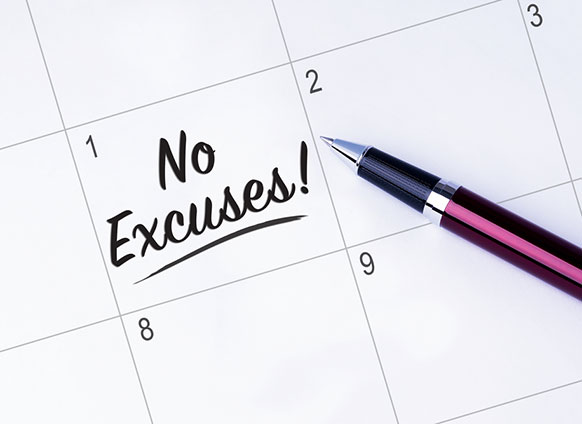 How to Stop Making Excuses (and Start Making Things Happen)
